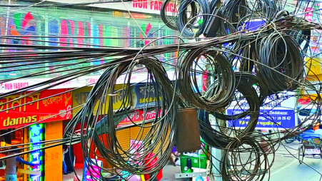 Electric wires to go underground in Sylhet | The Business ... on electrical engineering, electric coil, alternating current, wiring diagram, electric painting, earthing system, electric trim, three-phase electric power, national electrical code, electric design, electric doors, electric blue, electric plug, electric repair, knob-and-tube wiring, electric appliances, power cord, electric voltage, electric inverter, electric service, circuit breaker, electric motor, electric computer, electric controller, electric motors, electric power distribution, electrical conduit, extension cord, power cable, distribution board, electric electricity, electric installation, ground and neutral, junction box, electric terminals, electric switch,