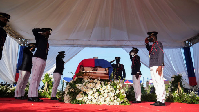 Violent Protests Sully Funeral of Slain Haiti President