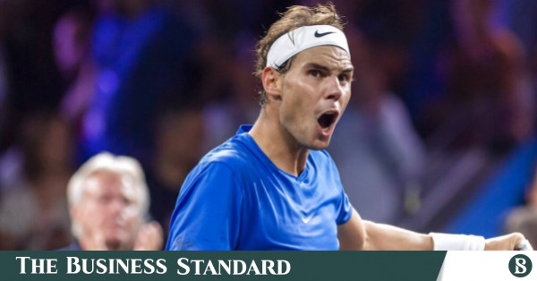 Rafael Nadal Withdraws From Shanghai With Left Hand Injury The Business Standard
